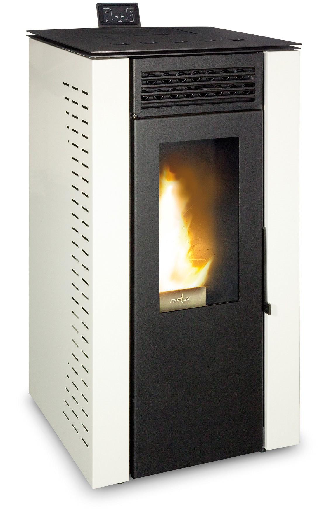 Estufa de pellet ferlux nely aire 12 kw - Estufas de aire ...