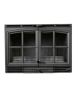 Chimenea Insertable 800 2P (Con marco negro)