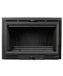 Chimenea Insertable 800 GV (Con marco negro)