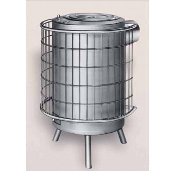 Estufa de Leña Pintada Aluminio Nº3