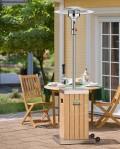 Estufa de exterior Cosystand Wood