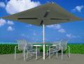 Panel radiante Ecosun, en un parasol