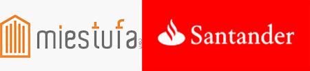 Logo mibarbacoa Banco Santander