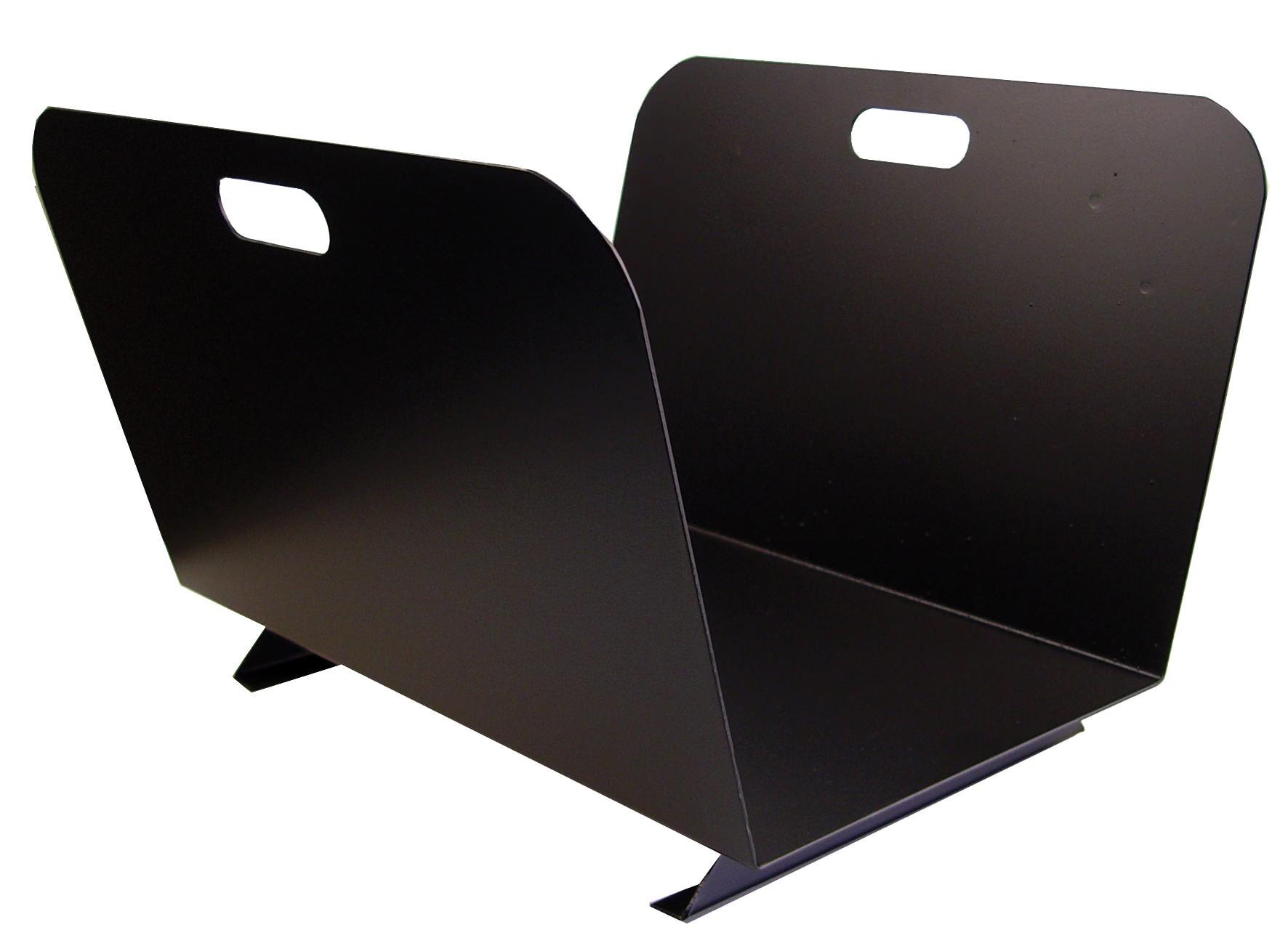 Leñero Negro Rustico 10152
