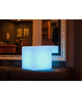 Cubo LED sin cables 40cm